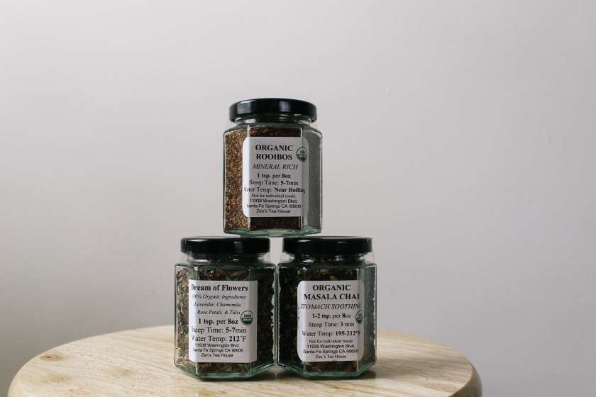 organic tea from Zen's Tea House