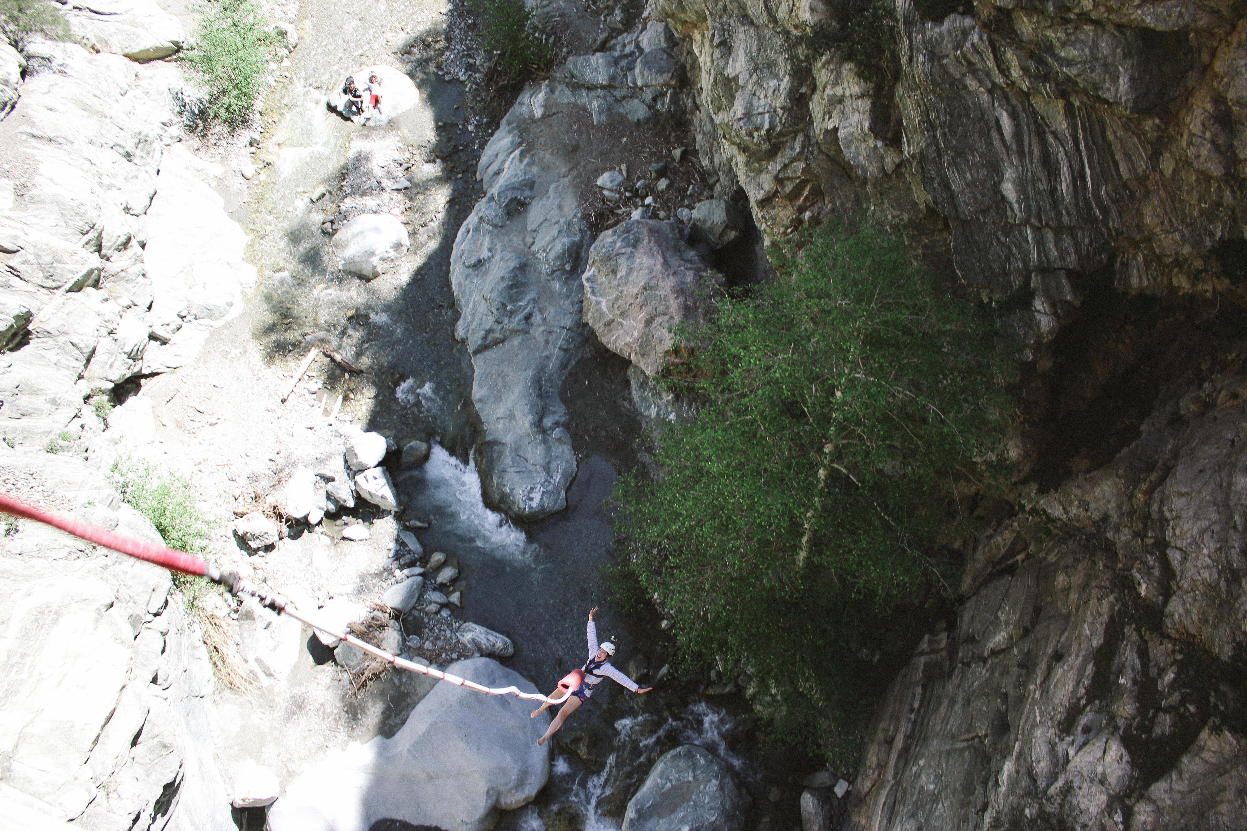 VIvian bungee jumping