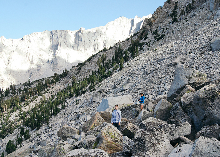 kearsarge pass backpacking tinycaravan