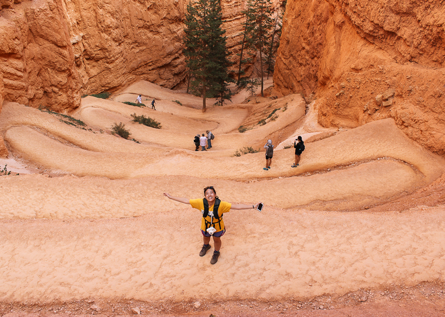 Vivian at Bryce Canyon National Park