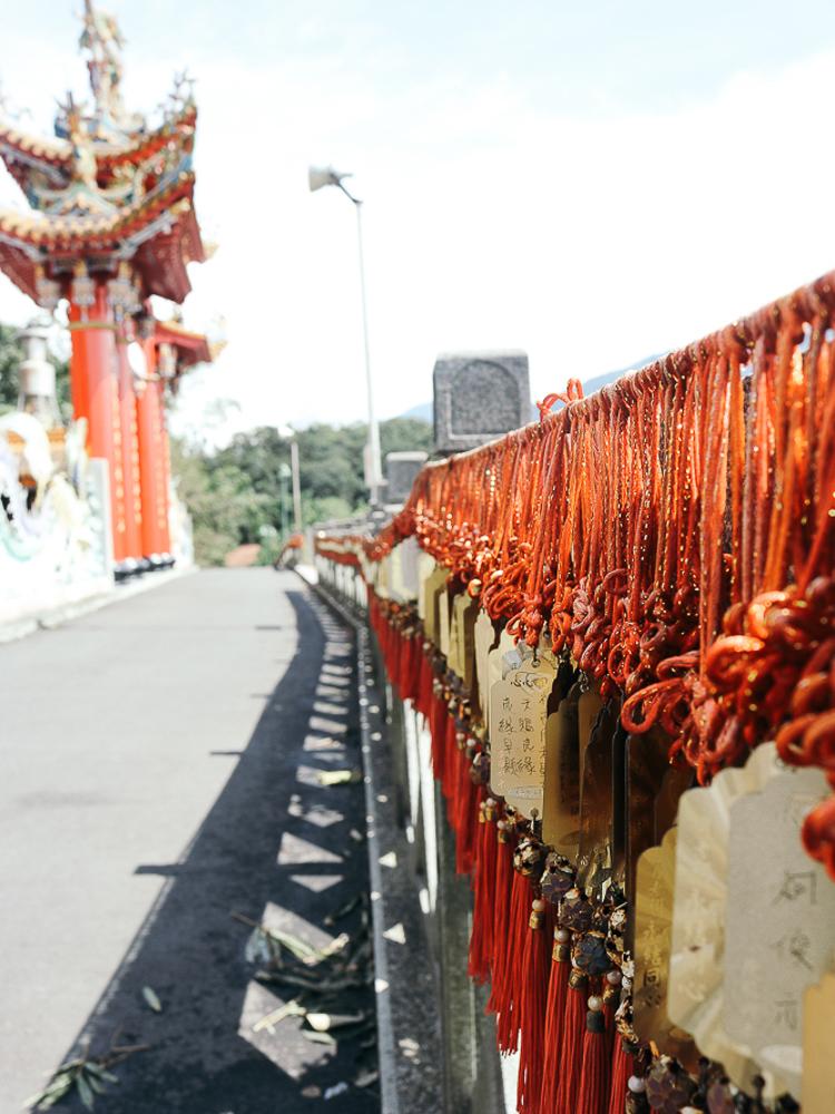 A temple in Taiwan