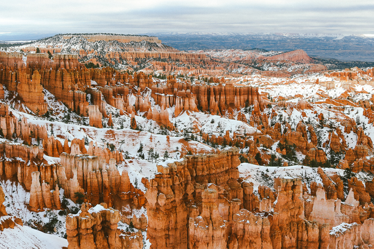 To explore winter in bryce canyon national park tinycaravan for Cabine vicino a bryce canyon