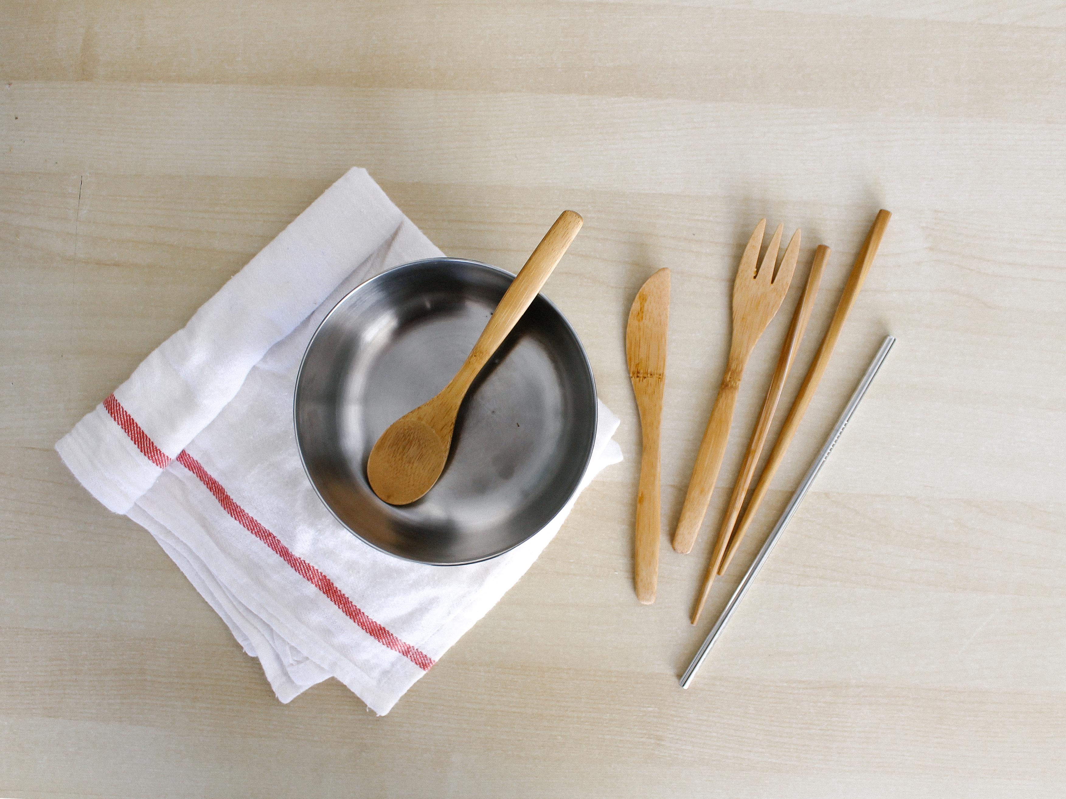 reusable kitchen utensils zero waste