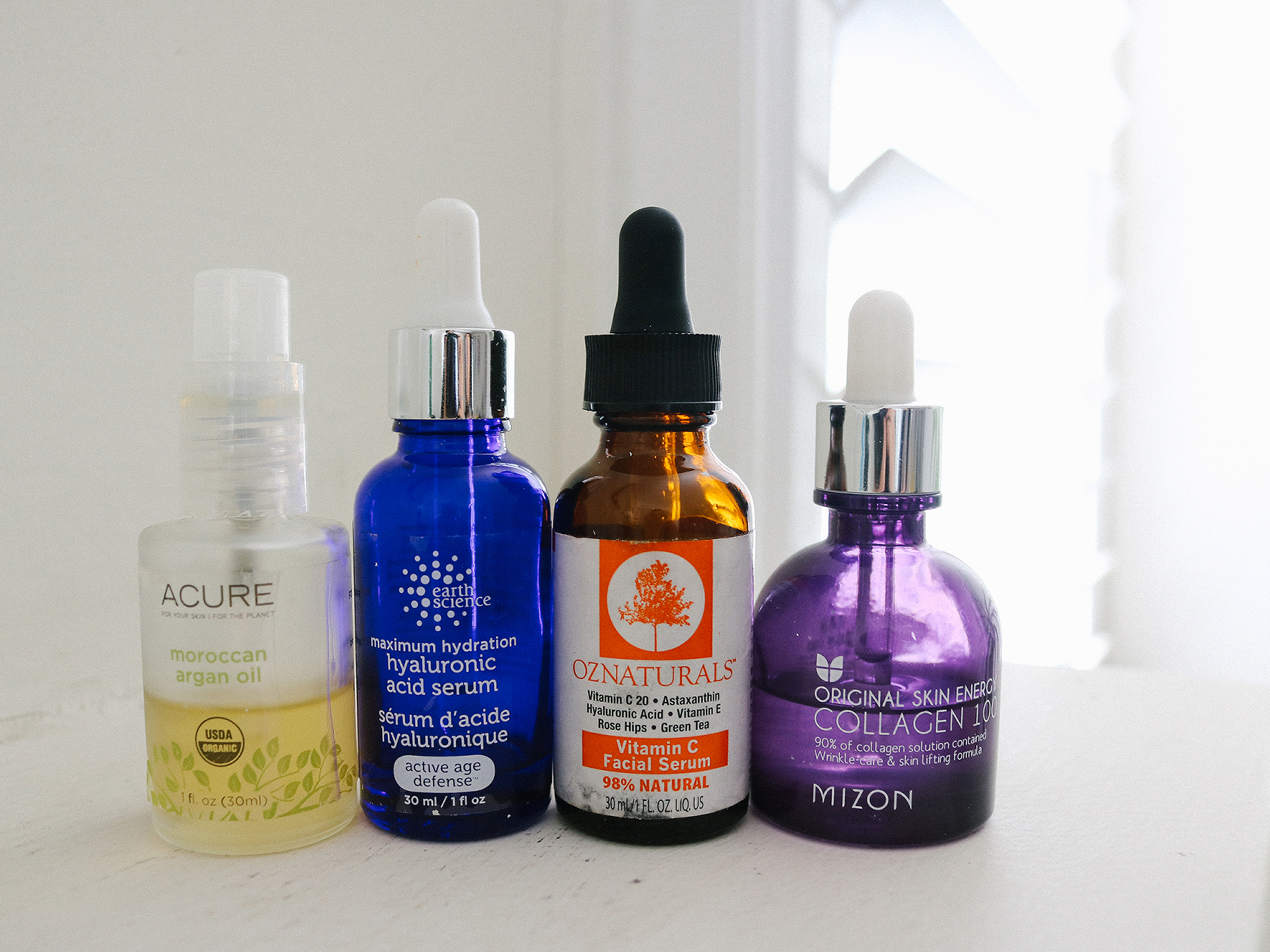 Serums that Vivian use