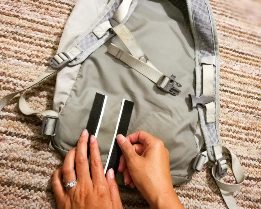 REI 18L Flash Pack with velcro strip