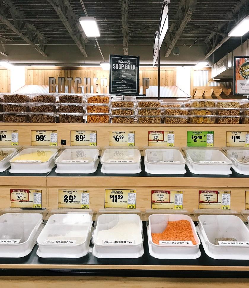 Photo of bulk bins