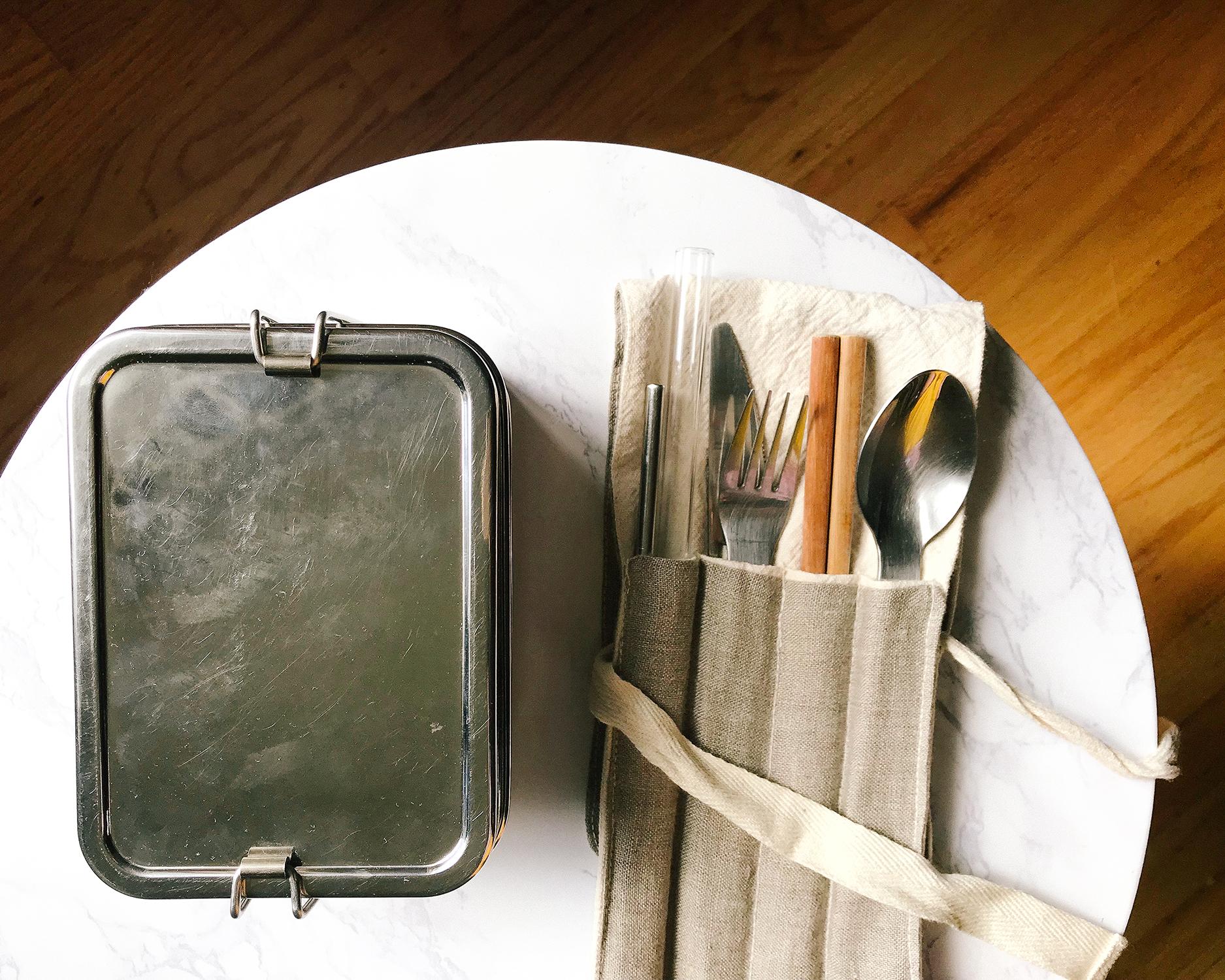reusable utensil kit